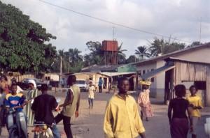 Owodé : frontière avec le Nigeria